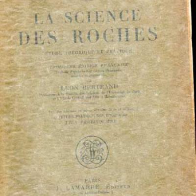 Rinne F. La science des roches