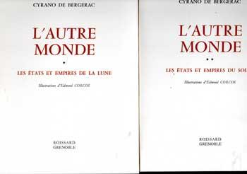 De Bergerac Cyrano L'autre monde Illustrations de E.Corcos