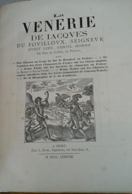 Du Fouilloux Jacques La Vènerie