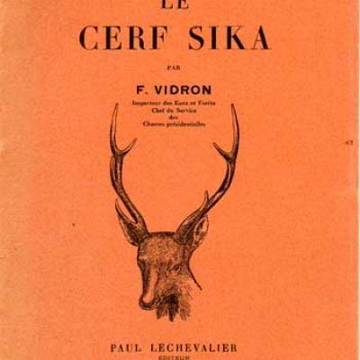Vidron F. Le Cerf Sika VENDU