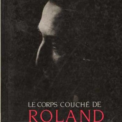 Le corps couché de Roland Barthes par Martin Melkonian