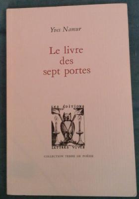 Namur Yves Le livre des sept portes Envoi de l'auteur