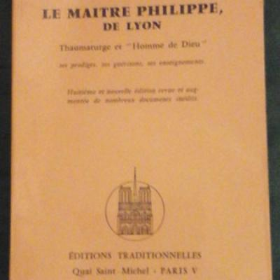 Encausse Philippe Le Maître Philippe de Lyon