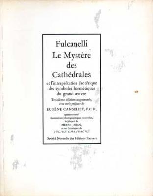 Fulcanelli Le Mystère des Cathédrales VENDU