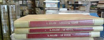 Poldès Léo Trois ouvrages avec envoi