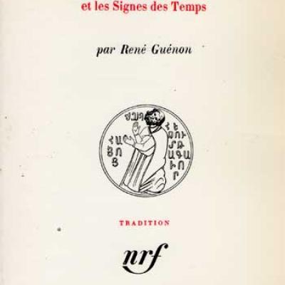 Le règne de la quantité et les Signes des Temps par René Guénon VENDU