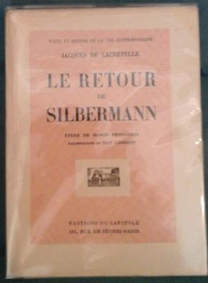De Lacretelle J. Le retour de Silbermann