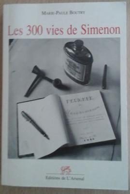 Boutry M.P. Les 300 vies de Simenon