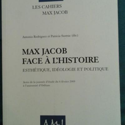 Collectif les cahiers Max Jacob Numéro 9