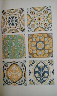 Broussaud Général Les carreaux de faïence peints dans l'Afrique du Nord VENDU