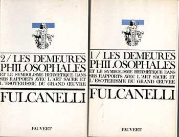 Fulcanelli Les demeures philosophales Tome 1 et 2 VENDU