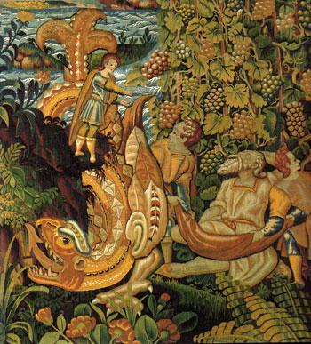 Les fastes de la tapisserie du XV au XVIII siècle