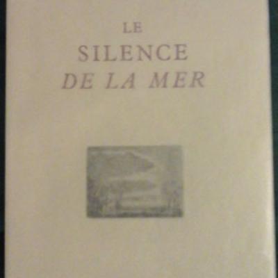Vercors Le Silence de la Mer Pointes sèches de Hermine David VENDU