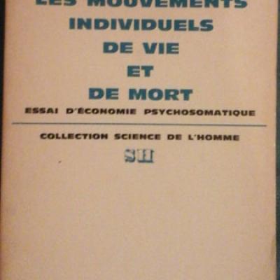 Marty Pierre Les mouvements individuels de vie et de mort