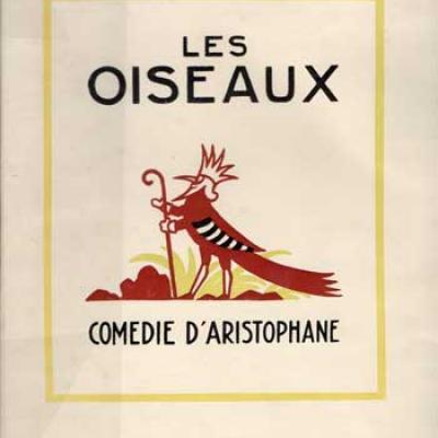 Les oiseaux Comédie d'Aristophane. Illustré par Lucien Boucher