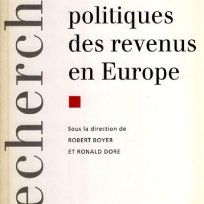 Les politiques des revenus en Europe