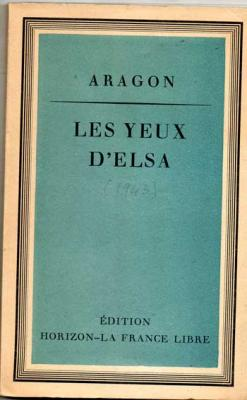 Aragon Les yeux d'Elsa
