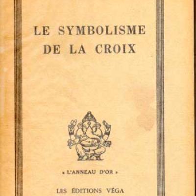 Guénon René Le symbolisme de la croix VENDU