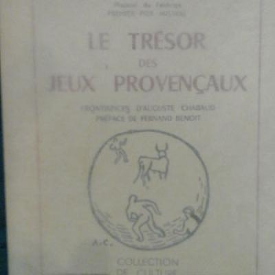 Galtier Charles Le trésor des jeux provençaux