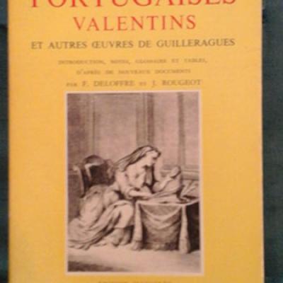 Guilleragues Lettres portugaises Valentins et autres oeuvres