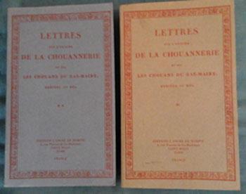 Duchemin Descepeaux Lettres sur l'origine de la chouannerie