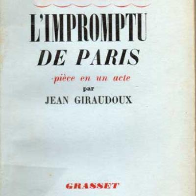L'impromptu de Paris par Jean Giraudoux