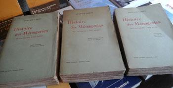 Loisel Gustave Histoire des Ménageries de l'antiquité à nos jours