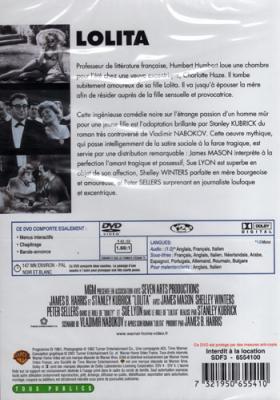 LOLITA LE LIVRE + LE FILM
