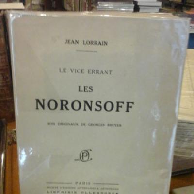 Lorrain Jean Le vice errant Les Noronsoff