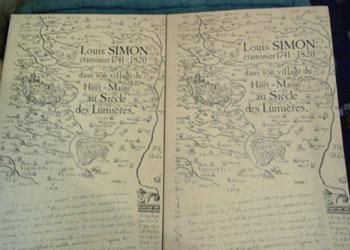 Fillon Anne Louis Simon étaminier 1741-1820 Réservé