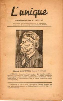 L'unique E.Armand Supplément aux numéros 128-129