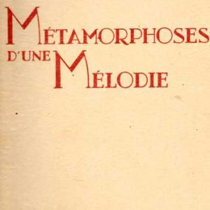 Metamorphosedunemelodie