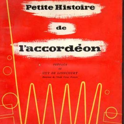 Monichon Pierre Petite histoire de l'accordéon VENDU