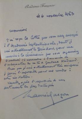 Nadaud Gustave Miettes poétiques On joint une lettre de Maurice Garçon