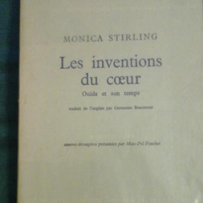 Stirling Monica Les inventions du coeur Ouida et son temps