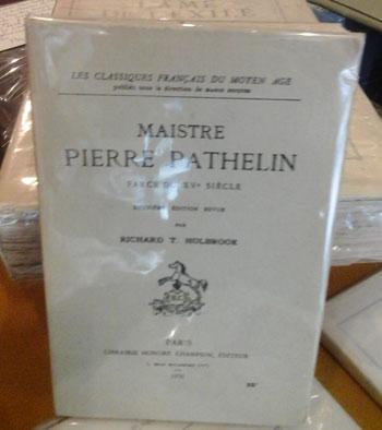 Pathelin Pierre Farce du XV siècle