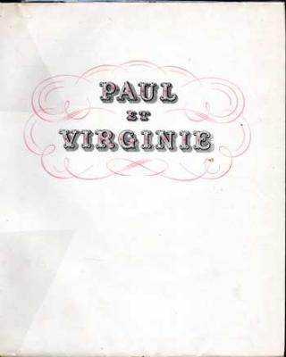 De Saint-Pierre Bernardin Paul et Virginie Illustrations de Chérianne
