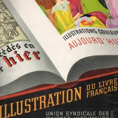 L'illustration du livre français par Pierre Gusman