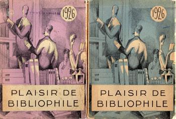 Plaisir de bibliophile 1926. Numéro 6 et 8