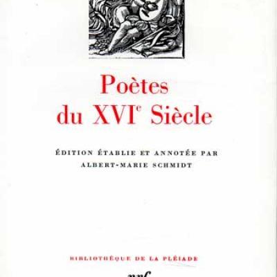 Poètes du XVI siècle