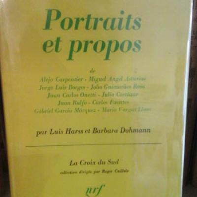 Harss L. et Dohmann B. Portraits et propos
