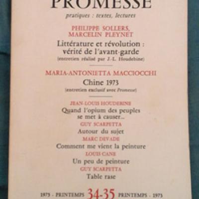 Collectif Revue Promesse Numéro 34-35