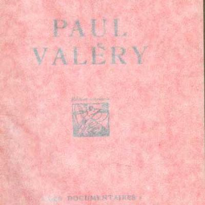 Souday Paul Paul Valéry Edition originale