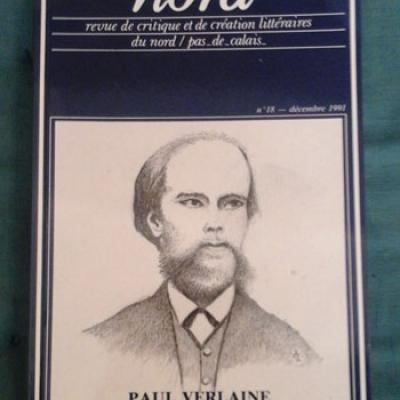 Revue Nord' Paul Verlaine Numéro 18
