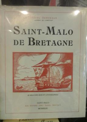 Derveaux D. Saint-Malo de Bretagne Editions d'art Derveaux