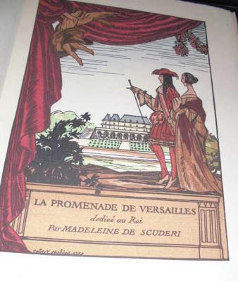De Scuderi Madeleine La promenade de Versailles dédiée au roi