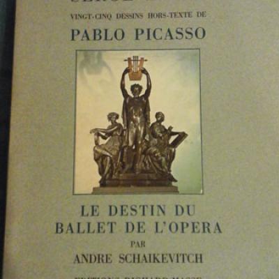 Schaikevitch André Serge Lifar Dessins de Picasso