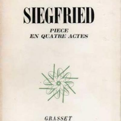 Siegfried par Jean Giraudoux