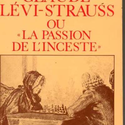 Simonis Yvan Claude Lévi-Strauss ou