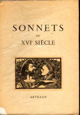 Collectif  Sonnets du XVI siècle Bois gravés originaux de Jean Peyre